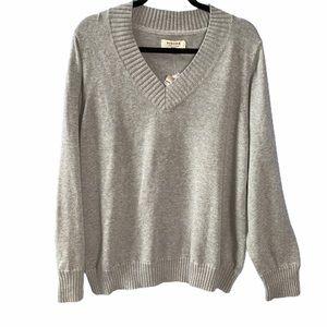 Sonoma V-Neck Pullover Sweater